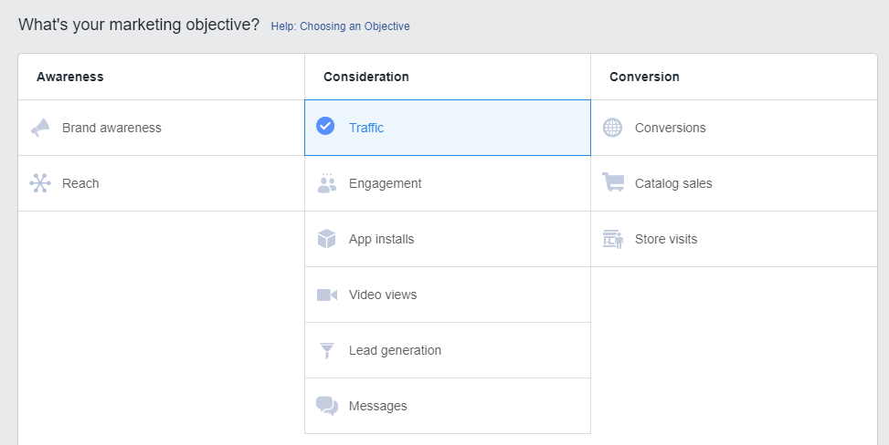 lead ads objective