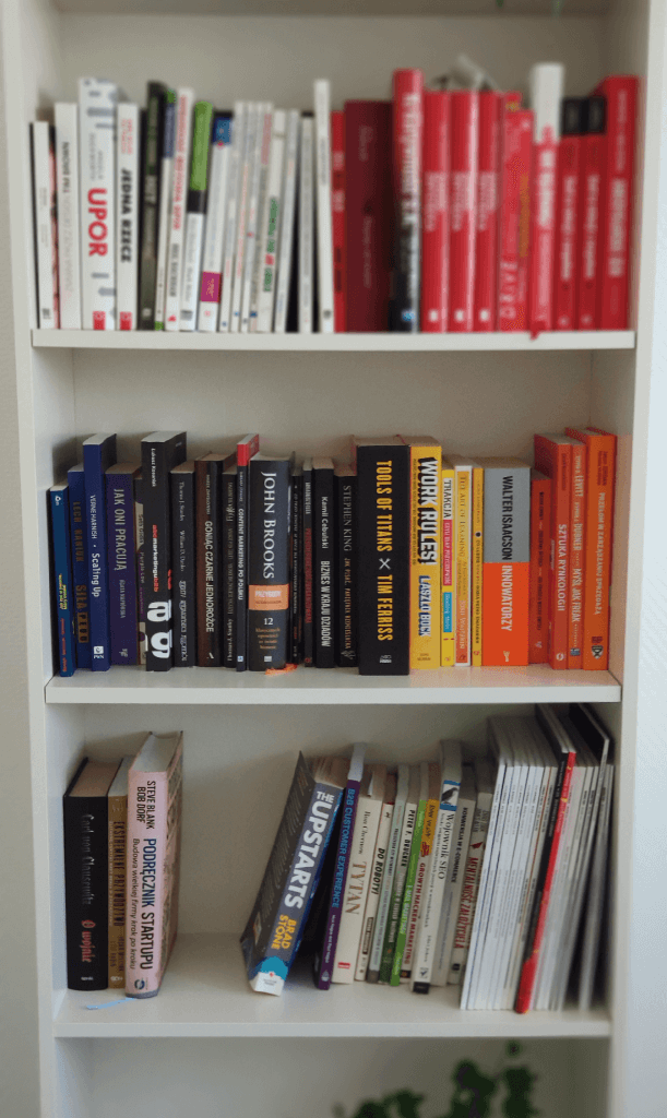 biblioteka w biurze