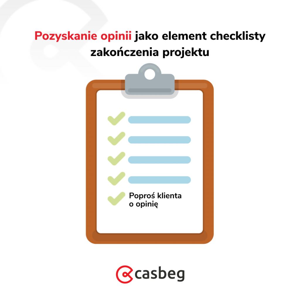 Pozyskanie opinii klienta jako element checklisty